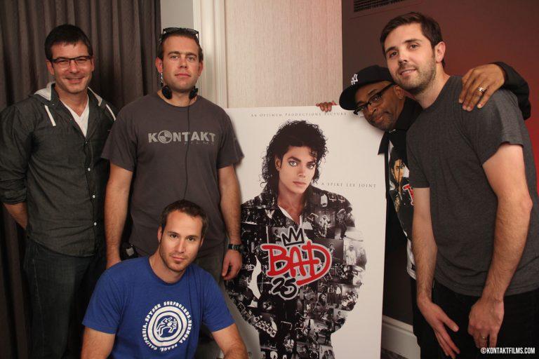 "Sony Music – The Kontakt Crew on set with Spike Lee, filming the press junket for his film ""Bad 25"" Toronto International Film Festival premiere | Kontakt Films"