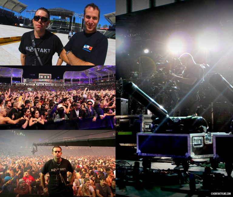 Tiesto – Filming the Club Life Concert at the Home Depot Center in LA with Co-Producer Kevin Mackenzie and Cinematographer Martin Hawkes | Kontakt Films