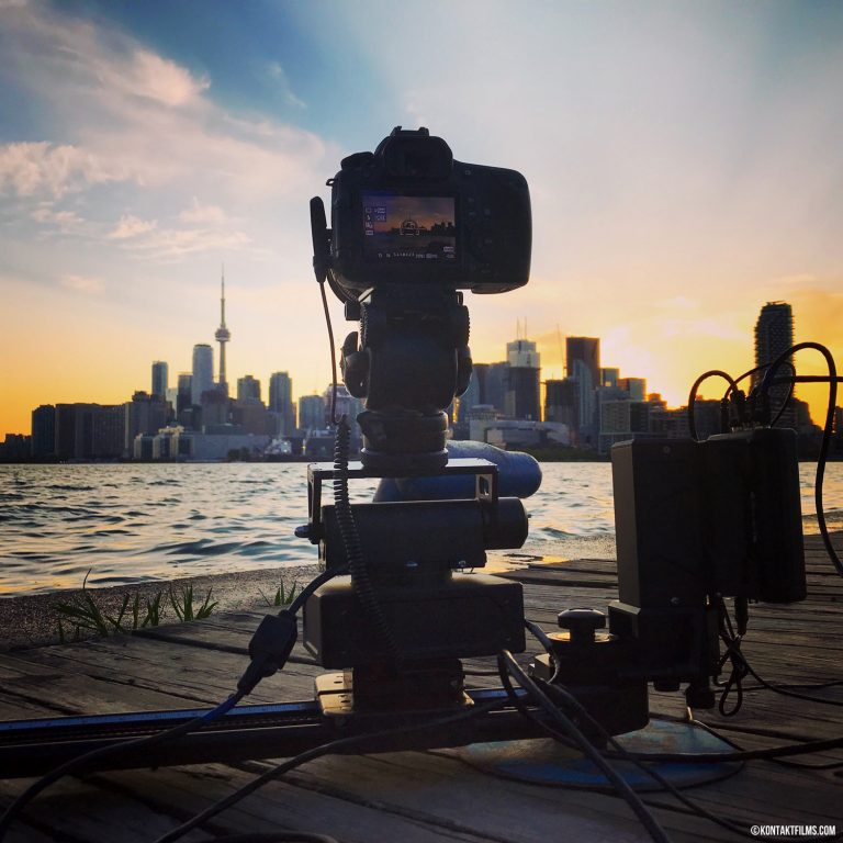 Time Lapse – Using the Canon 60D camera and Kessler Motion Control Slider to capture 3-axis moving time lapse shots of our favourite city | Kontakt Films