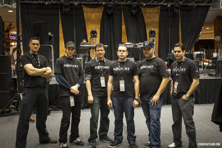 Interscope Records – The Kontakt Crew after our multi camera concert shoot for Interscope at the West Edmonton Mall | Kontakt Films