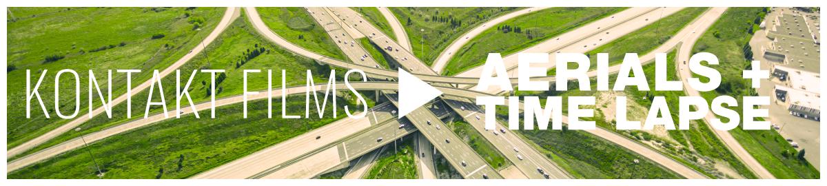 Kontakt Films Aerial & Time Lapse Videography Banner