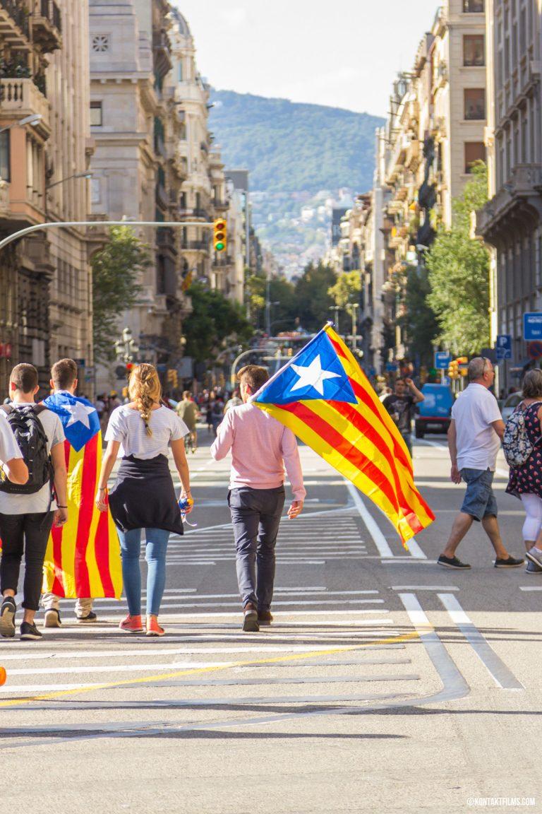 Protest in Barcelona   Kontakt Films