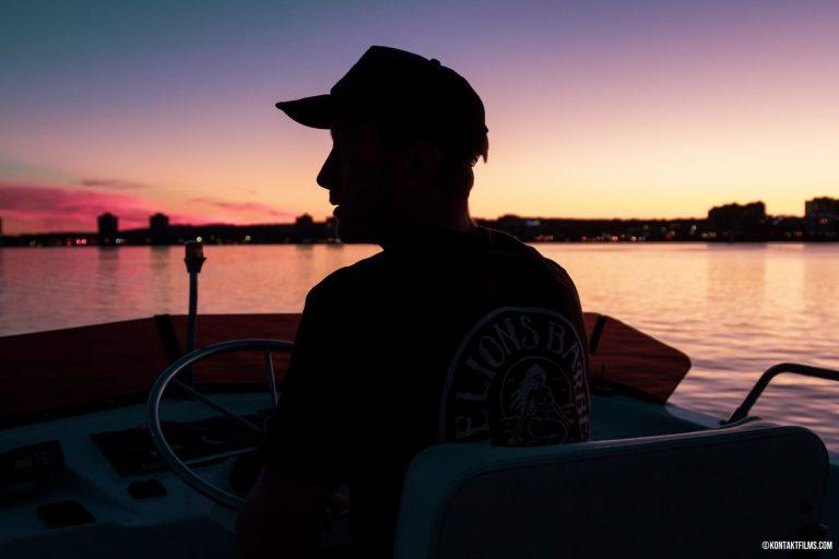 Kevin on Barrie Waters   Kontakt Films